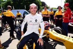 """Kubica ve """"un 80-90% de posibilidades"""" de regresar a la Fórmula 1"""