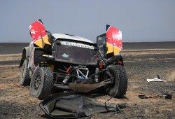 Sébastien Loeb se retira del Silk Way Rally por accidente