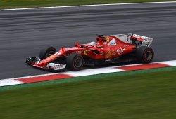 Vettel enseña sus armas para la clasificación