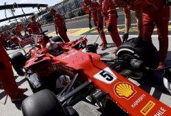 Vettel saca pecho antes de la clasificación