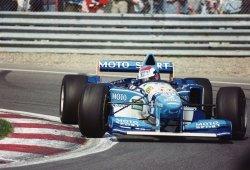 [Vídeo] GP F1 Gran Bretaña 1995: a río revuelto, ganancia de Herbert