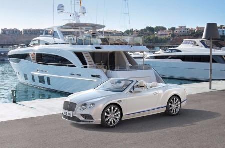 Bentley Continental GT Convertible Galene Edition: inspirado por los yates de lujo