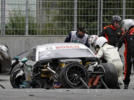 "Gary Paffett: ""Tuve mucha suerte en el accidente"""