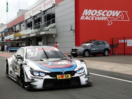 Blomqvist se lleva la segunda pole del DTM en Moscú
