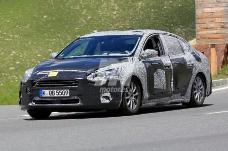 Ford Focus Sedán: cazada la renovada versión berlina del Focus