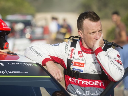 Kris Meeke lidera la ofensiva de Citroën en Finlandia