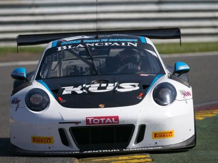 Porsche marca la pauta en el test de las 24 Horas de Spa
