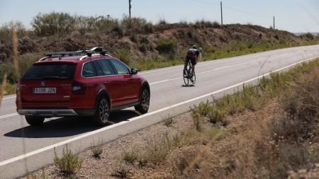 Recorremos la etapa Arroyomolinos-Madrid de La Vuelta 2017 junto al Škoda Scout
