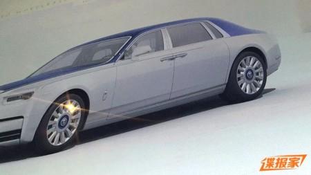Filtrado el Rolls-Royce Phantom 2018: aparecen las primeras imágenes