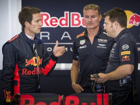 Sébastien Ogier debuta a los mandos de un Fórmula 1