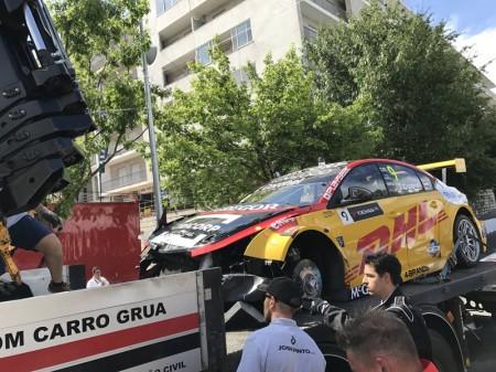 La FIA investiga el accidente de Tom Coronel en Vila Real