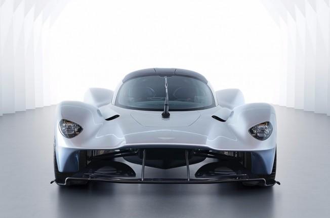 Aston Martin Valkyrie - frontal