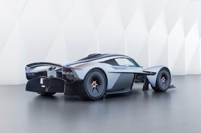 Aston Martin Valkyrie - posterior