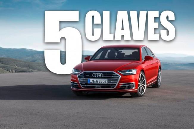 Las 5 claves del Audi A8 2018