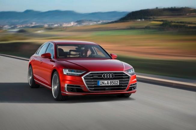 Audi A8 2018 - frontal