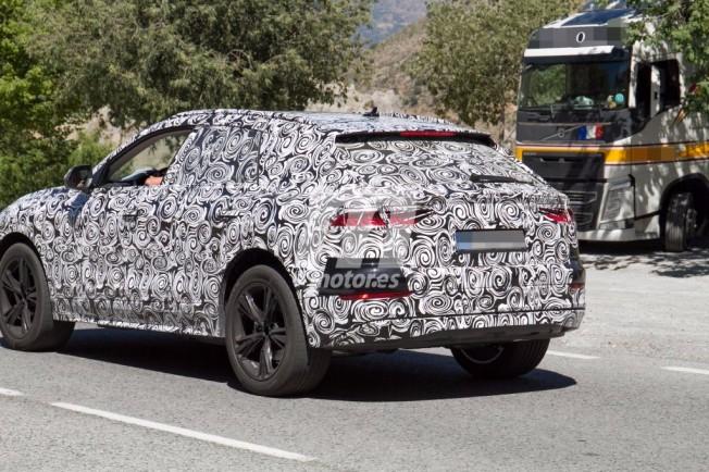Audi Q8 e-tron - foto espía