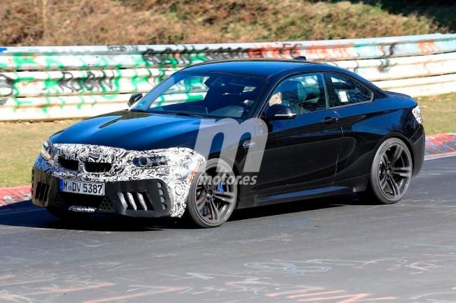 BMW M2 CS 2018 - foto espía