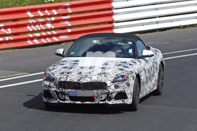 BMW Z5 Roadster 2018 - foto espía