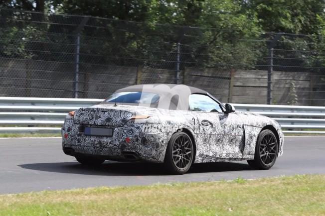 BMW Z5 Roadster 2018 - foto espía posterior