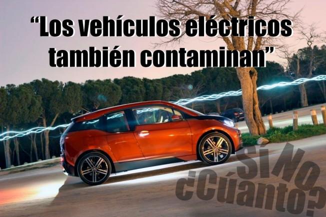 ¿Los coches eléctricos también contaminan?