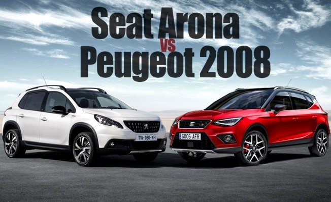 SEAT Arona vs Peugeot 2008