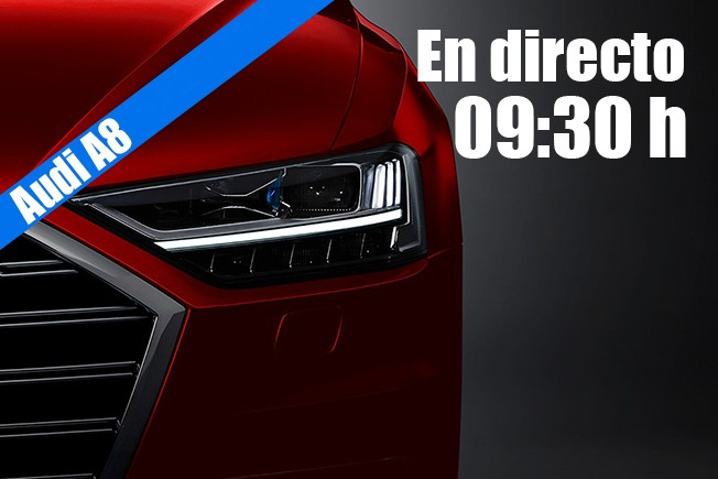 Audi A8 2018 - presentación en directo