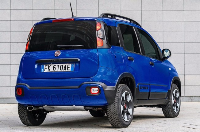 Fiat Panda City Cross 2017 - posterior