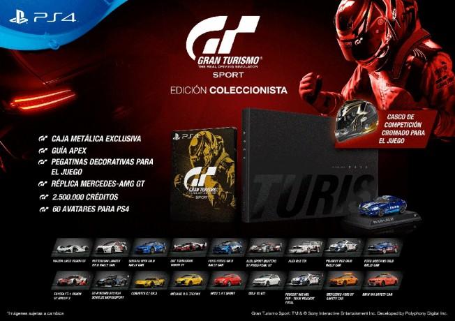 Gran Turismo Sport - Edición Coleccionista