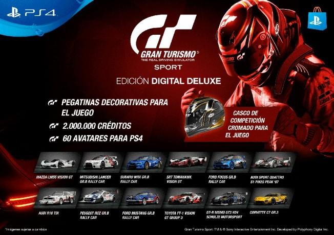 Gran Turismo Sport - Edición Digital Deluxe