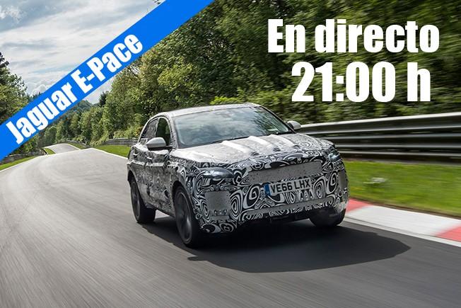 Jaguar E-Pace - presentación en directo