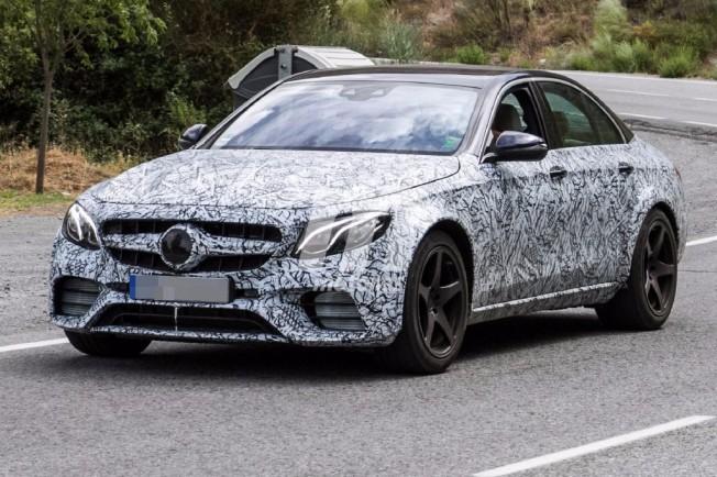 Mercedes-AMG E 55 Hybrid 2018 - foto espía
