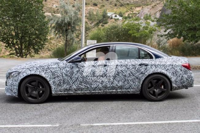 Mercedes-AMG E 55 Hybrid - foto espía
