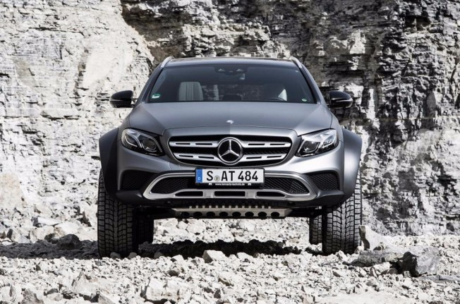 Mercedes Clase E All-Terrain 4x4² - frontal