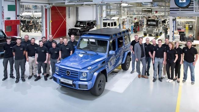 Mercedes Clase G - unidad 300.000