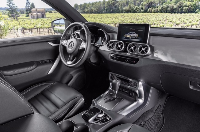 Mercedes Clase X 2018 - interior