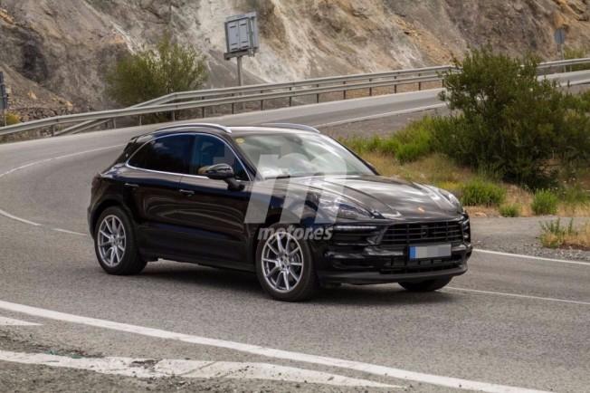 Porsche Macan 2018 - foto espía