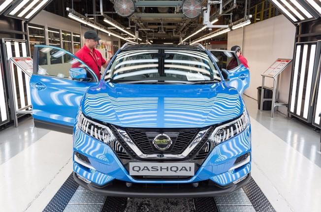 Nissan Qashqai 2017 - producción