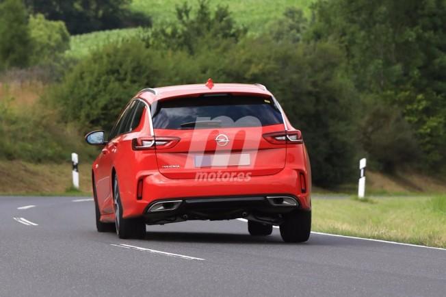 Opel Insignia Sports Tourer GSi 2018 - foto espía posterior