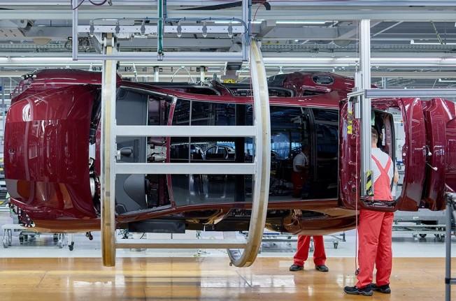 Porsche Panamera Sport Turismo - producción