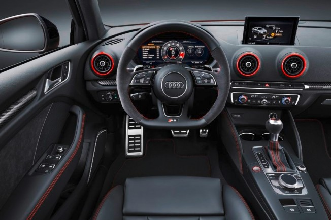Audi RS 3 Sedán 2017 - interior