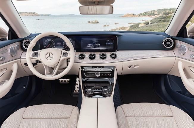 Mercedes Clase E Cabrio 2017 - interior
