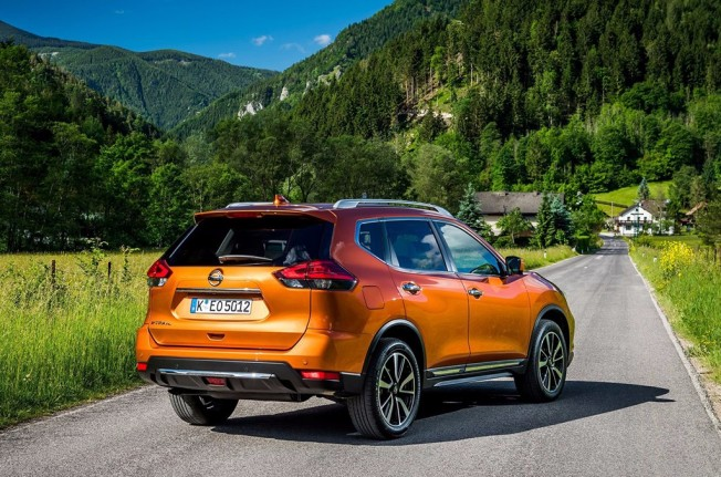 Nissan X-Trail 2017 - posterior