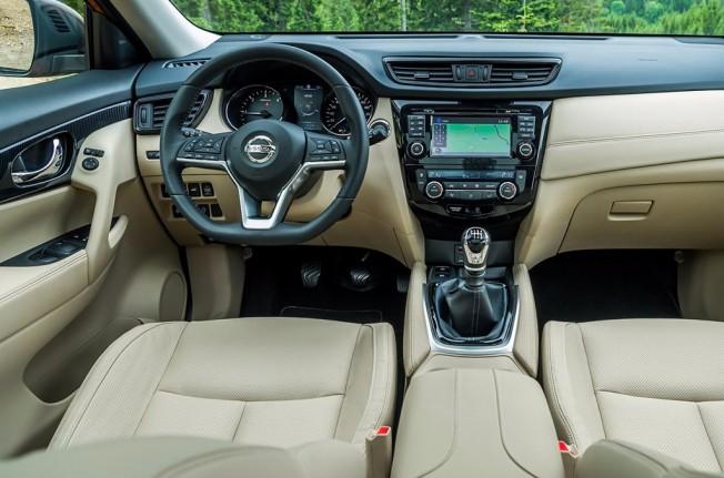 Nissan X-Trail 2017 - interior