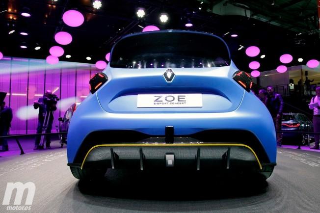 Renault Zoe e-Sport Concept - posterior