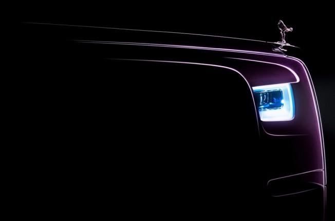 Rolls-Royce Phantom 2018 - teaser