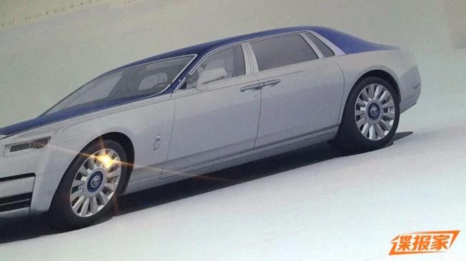 Rolls-Royce Phantom 2018 - filtrado el diseño exterior