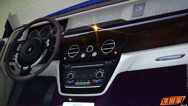 Rolls-Royce Phantom 2018 - filtrado el interior