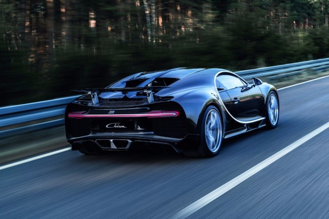 Bugatti Chiron - posterior