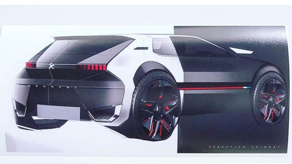 Peugeot resucita el clásico 205 GTI con el lenguaje de diseño actual de la marca