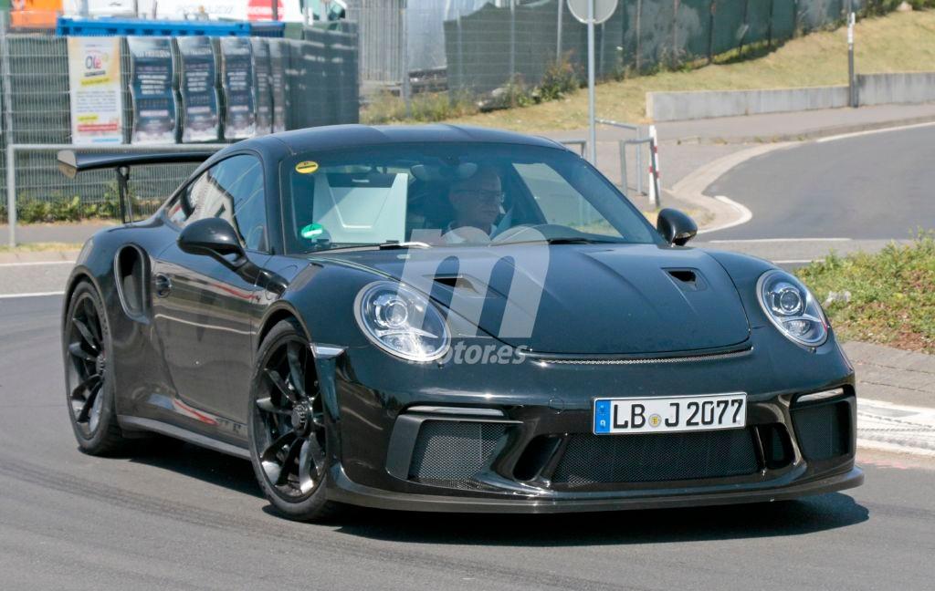 Cazado el renovado Porsche 911 GT3 RS en Nurburgring
